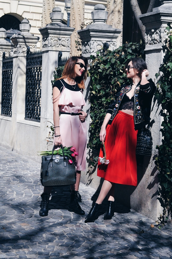 Luana Codreanu, Last Minute Couture, street style, outfit, inspiration, ootd , ootd share, lifestyle, fashion, fashion blogger, popular, worldwide, Fashion Week, Silvana Bunea, bloggers, friends, fashionistas, Maison Raquette, Mickael Kors, YSL Boots, RayBan, Topshop