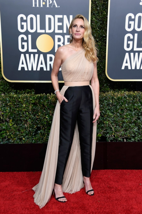Julia Roberts, Stella McCartney, Golden Globes 2019, 76th edition, red carpet, best dressed, Hollywood,
